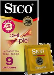 2 x Condones Sico Piel con Piel 9u