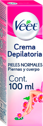 2 x Crema Depilatoria Veet Corporal Para Piel Normal 100Ml