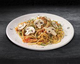 Tallarines Vegetarianos a la Italiana
