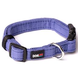 Dogline Collar de Microfibra Morado Chico