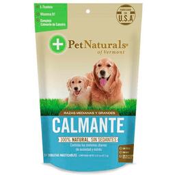 Pet Naturals Calmantes Para Perros Mediano y Grandes