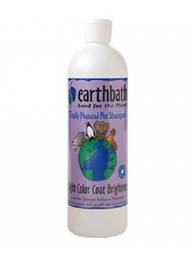 Earthbath Mascotas Shampoo Pelo Blanco 16Oz