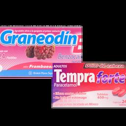 Rappicombo Graneodín B frambuesa +Tempra Forte