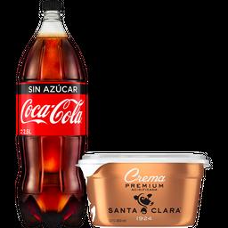 Rappicombo Coca-Cola S Azúcar+Crema Sta Clara