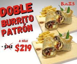 Doble Burrito Patrón