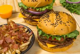 Promo 2 Pack Burger Original Doble