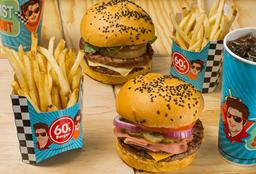 Promo 2 Pack Burger Premium