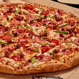 Pizza Extra grande 2-4  Ingredientes