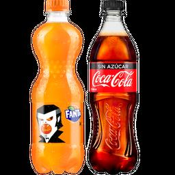 Rappicombo Fanta + Coca-Cola Sin Azúcar
