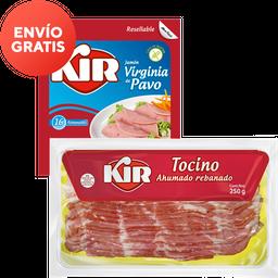 Rappicombo Jamón de Pavo Kir + Tocino Kir