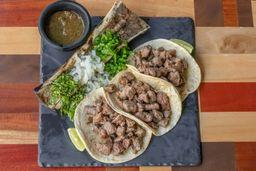 Taco Filete con Tuetano
