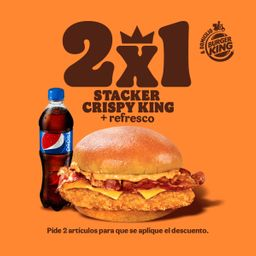50% Stacker Crispy King pollo