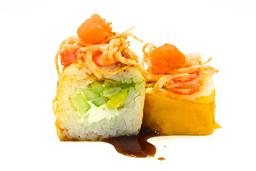 Salmón Kani Roll