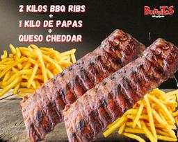 BBQ Ribs para compartir