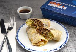 Burrito de Pato con Arroz Frito