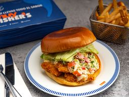 Fish and Chips Sandwich
