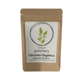 Living Greenery Suplemento Alimenticio Cúrcuma Orgánica