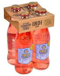 Indi Agua Tónica Orgánica Strawberry