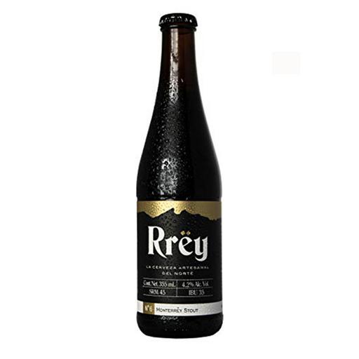 Rrey Cerveza Monterrey Stout