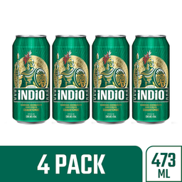 Indio Cerveza Lager
