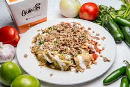 Chilaquiles Mixtos con Costilla