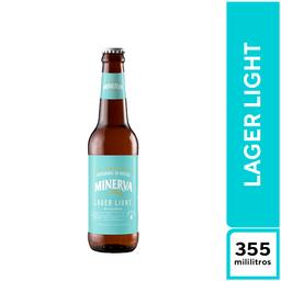 Cerveza Minerva Lager Light 355 ml