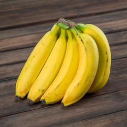 Plátano tabasco Organico