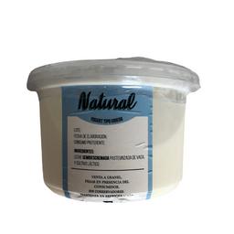 Yogurt Griego Natural Artesanal