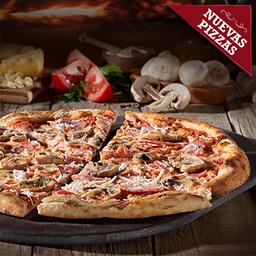 Pizza Jamon E Funghi