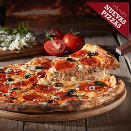 Pizza Pepperoni E Aceituna