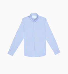 CK Jeans MEN Camisa Manga Larga con Puntos-J30J315661-Cdq