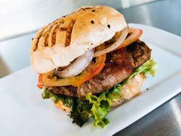 Roll Bacon Burger