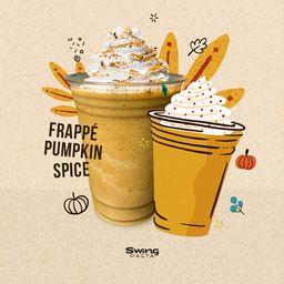 Pumkin Spice Frappe