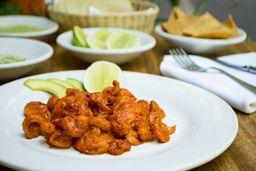 Tacos Salteados de Camarón