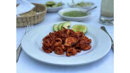 Tacos Salteados de Pulpo