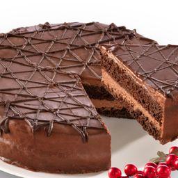 Pastel de chocolate Entero