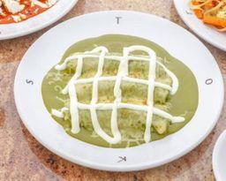 Enchiladas Toks + Refresco de lata