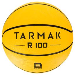 Tarmak Pelota Basketball R100 T5 Jaune