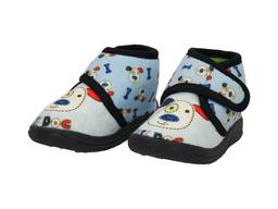 Baby Room Botas de Bebé Perrito Azul 12 cm BT0701