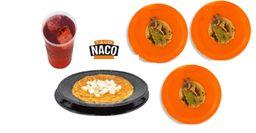 Combo Sopa de Fideo y Tacos de Bitec