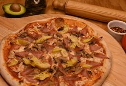 Pizza Champs Jamón y Alcachofa