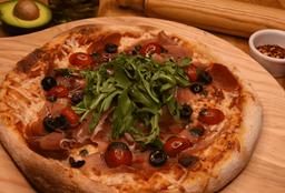 Pizza Ibérica Serrano y Arúgula