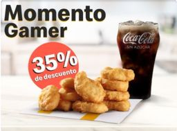 10 Mc Nuggets con refresco