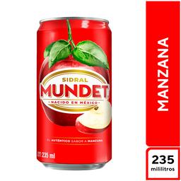 Sidral Mundet Manzana 235 ml