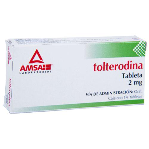 Comprar Tolterodina 2Mg 14Tab