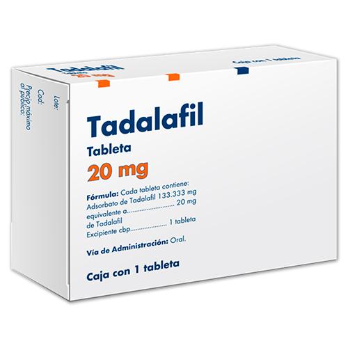 Comprar Taedallis (20 mg)