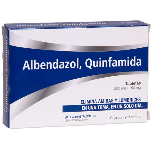 Comprar Quinfamida/Albend 150/200Mg 2Tab