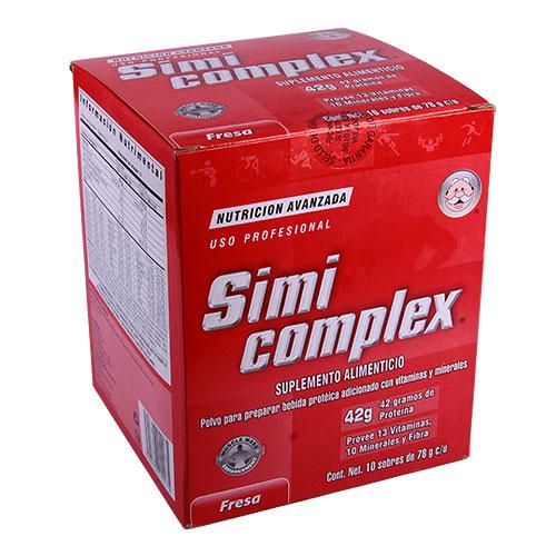 Comprar Prot Simicomplex Fresa 10Sob