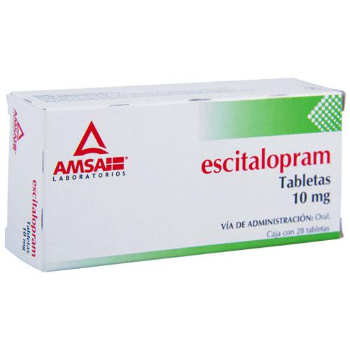 Comprar Escitalopram 10Mg 28Tab
