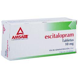 Escitalopram 10Mg 28Tab